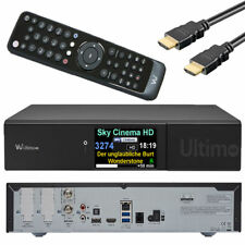 VU+ Ultimo UHD 4K FBC TWIN-Tuner SAT-Receiver Linux E2