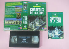 VHS film CHATEAUX DE LA LOIRE video decouvertes MICHELIN francese (F169) no dvd