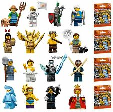 LEGO 71011 MINIFIGURES Series 15 COMPLETE SET of 16 figures with unused code