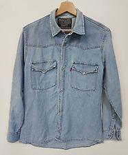 camicia Jeans Levis vintage tg.44 bluse shirt Levis Vintage