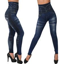Push Up Slim TV Werbung Leggins Hose Jeans Optik Leggings Jeggings Treggings