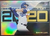 2020 Topps Chrome Update Gavin Lux Decade's Next Rookie Dodgers RC #DNC-25