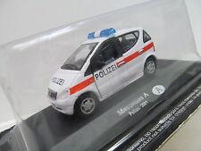 ENS702331:43 Mercedes Benz Polizei ,Metall , sehr guter Zustand,