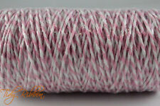 10m Bakers Twine 1mm Crafts String Gift Wrap Tags Cotton Party Ribbon