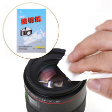 50 Sheets Soft Camera Lens Optics Tissue Cleaning Clean Paper Wipes Booklet LTAU