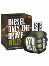 Diesel Only The Brave Wild Eau de Toilette for Men 75ml 2.5 fl.oz FREE P&P
