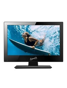 """SuperSonic 13.3"""" LED HDTV with Built-in DVD Player"""