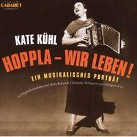 K./RICHTER,K./BLACHER,B./ORCH.BERT KÜHL - KATE KÜHL:HOPPLA WIR LEBEN! 2 CD NEUF