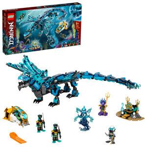Lego 71754 Ninjago Water Dragon Underwater Scuba Ninja Building Set 737pcs 9+