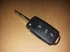 Orig. VW Golf 6 VI Eos Klappschlüssel Schlüssel Funkfernbedienung 5K0837202AE