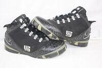 Nike Zoom Soldier 2 OG 319407-001 Black White Gray Size 11.5 2008 Rare
