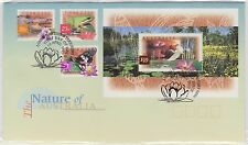 (KP14) 1997 AU FDC $10 &3stamps nature of Australia
