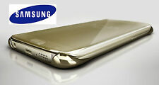 OFFICIAL GENUINE SAMSUNG GALAXY S6 CLEAR VIEW COVER CASE - GOLD