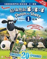 Shaun the Sheep Series 1-Vol. I & II [New Blu-ray] Hong Kong - Import