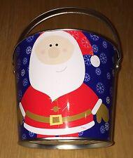 Metal Christmas Bucket With Handle