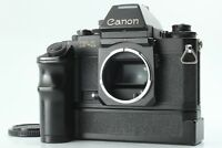 【Exc+4】 Canon New F-1 Film Camera Body with AE Finder & Power Winder JAPAN #135