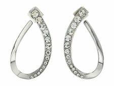 Vince Camuto Graduated Stone Hoop Earrings 0481