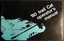 1980 Arctic Cat Snowmobile Trail Cat Operators Manual P/N 2254-151 (316)