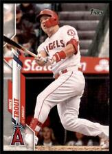 2020 Topps Series 1Base #1 Mike Trout - Los Angeles Angels
