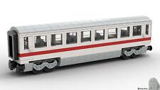 PDF-Bauanleitung: DB Wagon Intercity aus Noppensteinen, u.a. Lego