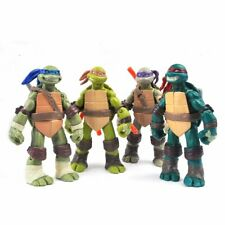 Modell 4pcs Action Figuren TMNT Teenage Mutant Ninja Turtles Figur Lot Spielzeug