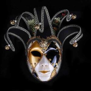 Vintage Masquerade Mask Party Ball Plastics Fashion Costumes Full Face Halloween
