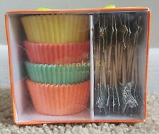 Cupcake Kit | Meri Meri Party Cupcake Kit | 48 Cases | 24 Toppers