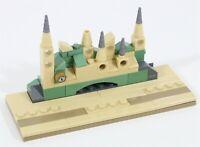 LEGO HARRY POTTER MINIFIGURE DISPLAY BASE MOC BUILD - MADE OF GENUINE LEGO