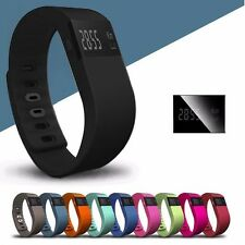 TW64 Bluetooth Smart Sleep Monitor Watch Bracelet Wristband for Android Black
