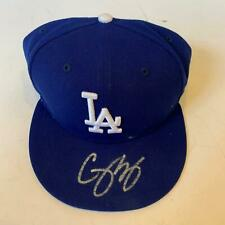 Corey Seager Signed Authentic Los Angeles Dodgers Hat Cap Fanatics & MLB Holo