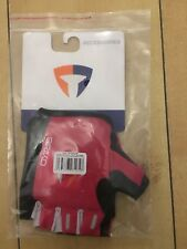 Briko Evolution Pro Fingerless Gloves LARGE PINK + BLACK Cycling Mtb RRP £20+