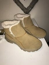 Skechers On-The-Go Suede Ankle Boots.Memory Foam. Size 3(36)