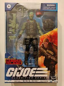 "New G.I. Joe Classified Series Cobra Island Wayne ""Beach Head"" Sneeden Exclusive"