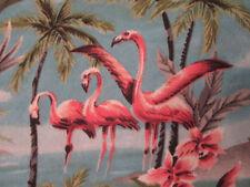Beautiful retro flamingo Hawaiian shirt EXTRA SMALL