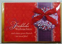 3D Weihnachtskarte - mit Umschlag - Klappkarte  -  Weihnachten - Grußkarten**