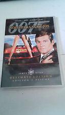 """DVD """"007 SOLO PARA SUS OJOS"""" 2 DVD ULTIMATE EDITION PRECINTADA ROGER MOORE"""