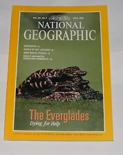 NATIONAL GEOGRAPHIC MAGAZINE APRIL 1994 - EVERGLADES/KAMCHATKA/LUSITANIA/POWELL