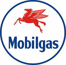 MOBIL GAS Vinyl Decal / Sticker ** 5 Sizes **