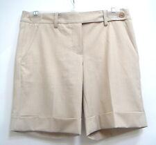 Cuffed khaki Shorts by Robert Rodriquez, Size 2.