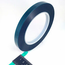 "3/8"" X 72 Yards HIGH TEMP Green Polyester Masking Heat Tape Powder Coating Paint"