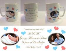 HRH PRINCE GEORGE ALEXANDER LOUIS - ROYAL BABY MUG CUP - WILLIAM KATE (No.2)