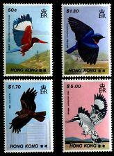 Hong Kong 519-522, MNH, 1988 Birds. x6671