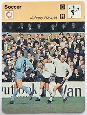 Sportscaster Card Editions Rencontre Football Card Johnny Haynes Fulham England