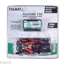Chargeur de batterie FULBAT FULLOAD 750 6V 12V batterie plomb gel SLA MF DRY