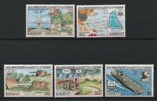Kiribati 1983 Battle of Tarawa MNH set S.G. 210-214