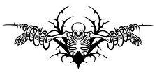 Hanging Skeleton Skull Zombie Monster Car Truck Window Vinyl Decal Sticker
