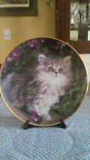 Franklin Mint Purrfection Plate