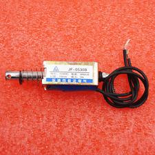Jf-0530B Dc12V 300mA 5N/10mm Pull-Push-Type Dc Solenoid Electromagnet