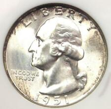 1951-D Washington Quarter 25C - Certified NGC MS67 - Rare in MS67 - $1100 Value!