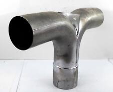 "5"" Aluminized Y-Pipe Elbow with Divider"